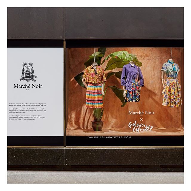 Discover the vintage treaures curated by Amah Ayivi for the Marché Noir pop up shop during Africa Now.