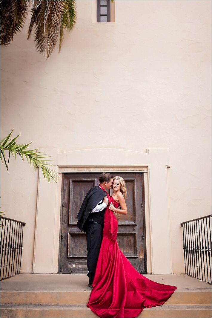 Elegant Balboa Park Engagement Session from Jaime Davis Photography