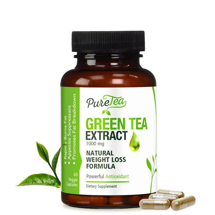 PureTea Green Tea Extract #DetoxRedTea