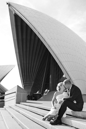 Sarah Braden, Photography, Wedding, Wedding Photography, Opera House, Harbour Bridge, Sydney Icons, Guillaume, Carla Zampatti, Peep toe shoes