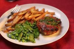 meatloaf burgers - Sara Moulton's Weeknight Meals - I'm definitely giving this one a try.