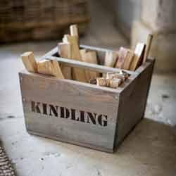 metal lining firewood box - Google Search