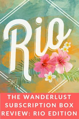 The Makeup Equation: The Wanderlust Review Rio Edition