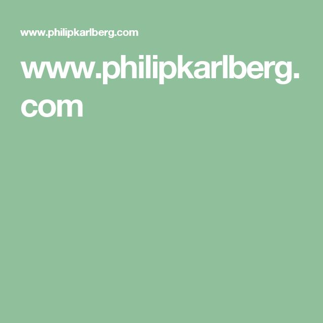 www.philipkarlberg.com