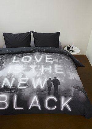 Beddinghouse Dekbedovertrek ST New Black (zwart)