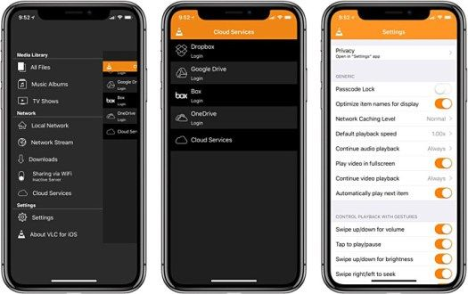 VLC for iOS brings iPhone X compatibility support for 4K videos