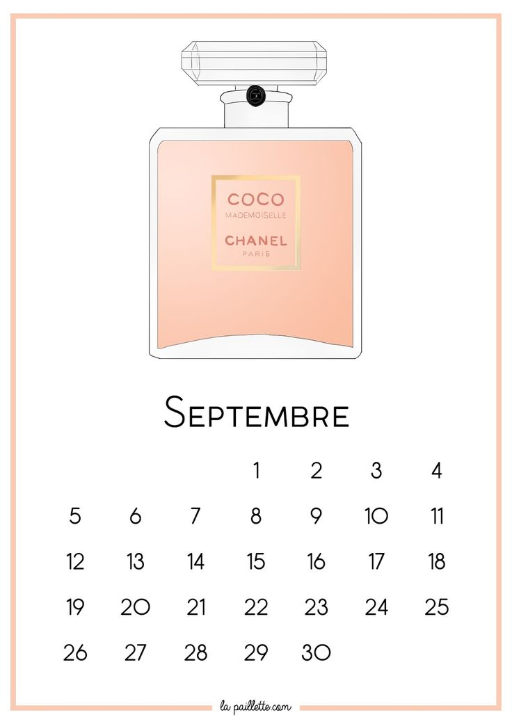 calendrier+2016+la+paillette+blog+illustrations+parfums+septembre+coco+mademoiselle.jpg (1131×1600)
