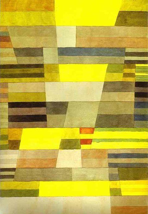 KLEE Paul - Swiss (Münchenbuchsee 1879 - 1940, Muralto)