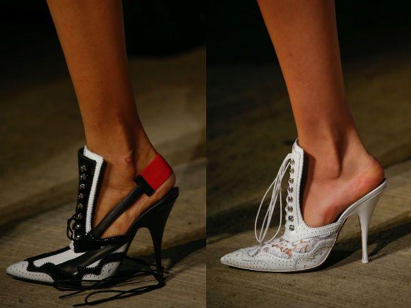 Модные туфли без задника весна-лето 2016