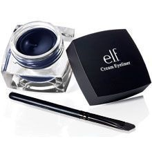 Seriously guys, this has to be one of the best eyeliners at walmart! I got it for $3. It's so hard to get off! Which is why it's water resistant. ELF has impressed me!