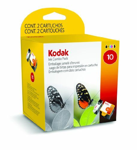 Kodak Combo Colour & Black Ink Cartridge, No 10, EasyShare series Inkjet Printers 500 - This is a pack of 2 Kodak 10 Ink Cartridges for refilling Kodak inkjet printers.   This pack has 1 cartridge for creating highly detailed and excellent quality mono prints. The 5-ink colour cartridge included gives a crisp, sharp and vivid finish to photographs and images.   The black cartridge... - http://ink-cartridges-ireland.com/kodak-combo-colour-black-ink-cartridge-no-10-easyshare-se