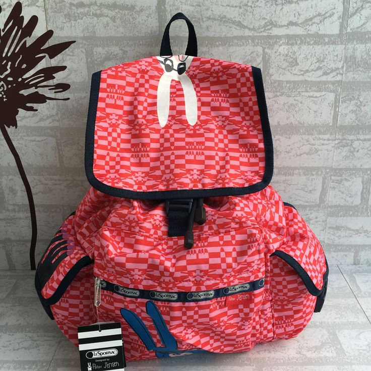 LeSportsac 7839 Big Backpack up width34CM ,down width 13CM ,height 41CM,40USD