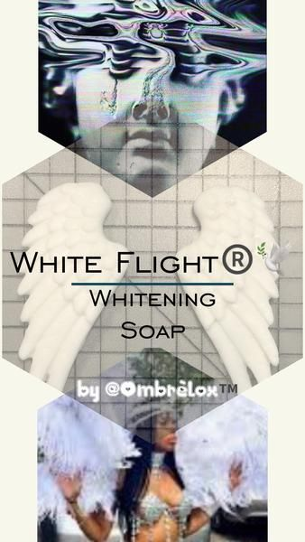 WHITE FLIGHT ®️🕊 WHITENING SOAP by OmbrèLox™️ Aesthetics – OmbréLox™ Aesthetics 👳🏼🍃