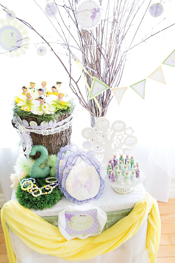 Dreamy Lavender Woodland Fairy Party