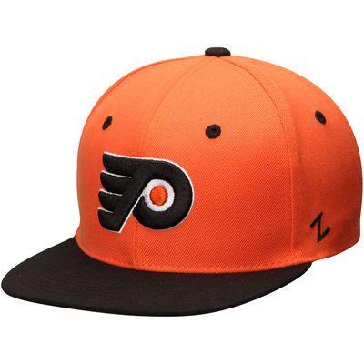 Youth Philadelphia Flyers Zephyr Orange/Black Z11 Snapback Adjustable Hat