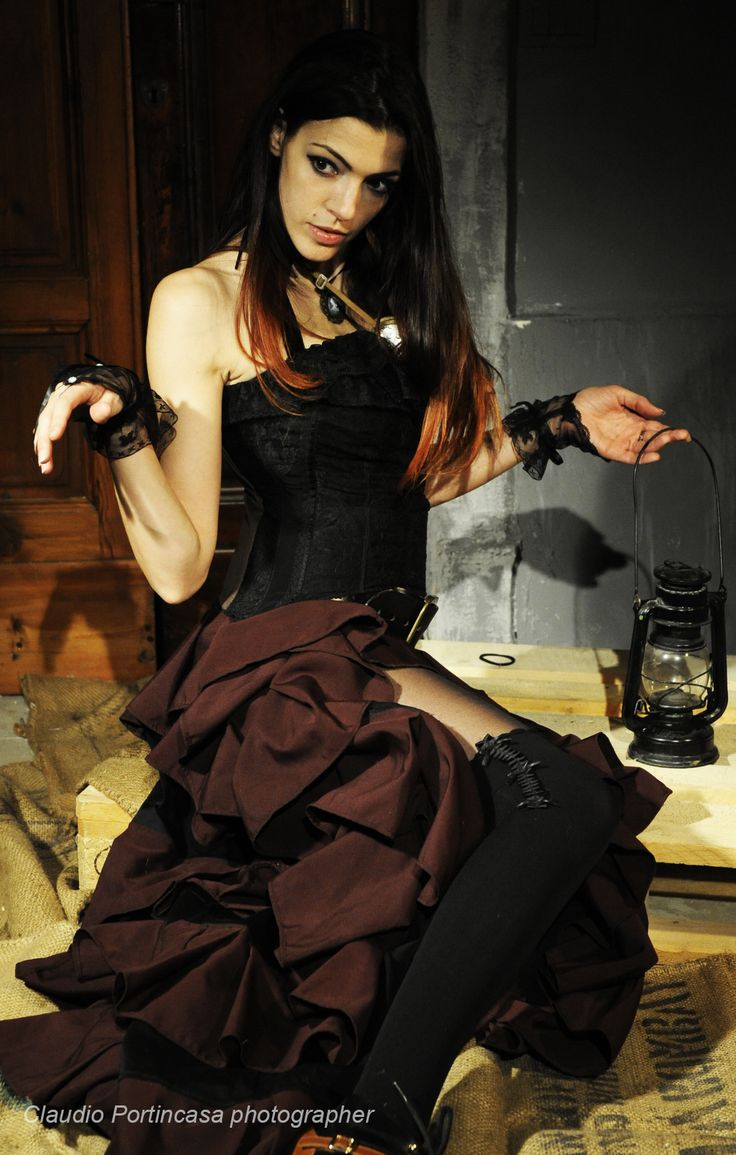 Like a doll, sitting on the ground... Is reality just a play? #victorian #steampunk #costume