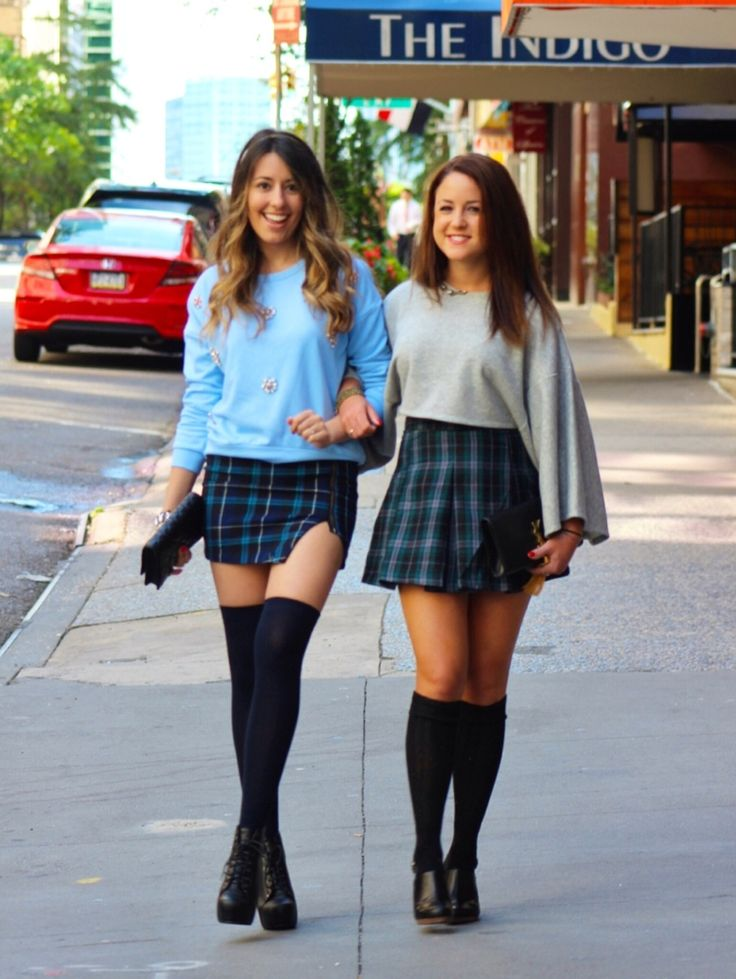 25  best ideas about Plaid Skirt Outfits on Pinterest | Preppy ...