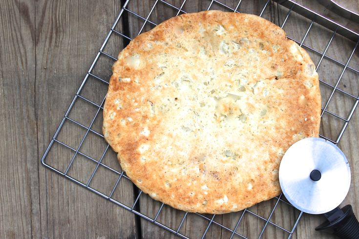 Pizza crust, mostly yuca. Looks easy and yummy. I'll sub some of the weirder, specifically paleo/GF ingredients for cheaper pantry staples, but cool idea.