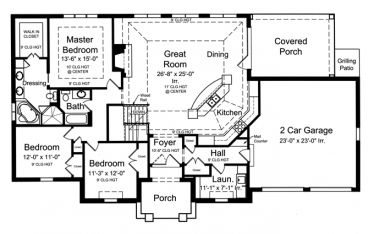 1000 images about house plans on pinterest square for French country house plans open floor plan