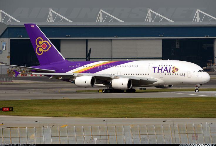 Thai Airbus A380-841