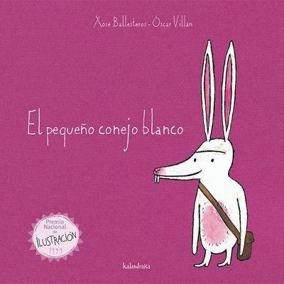 El pequeño conejo blanco Cuento popular portugués. Un animal minúsculo le gana la partida al grandullón. Invitación divertida al juego de palabras.