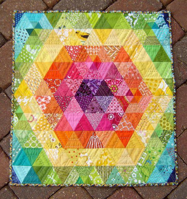 Anna Maria's Patchwork Prism - Marci Girl Designs, via Flickr
