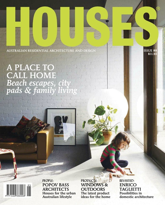 Houses Magazine Is A Mix Of Architecture And Design Made For Designers Their Clients
