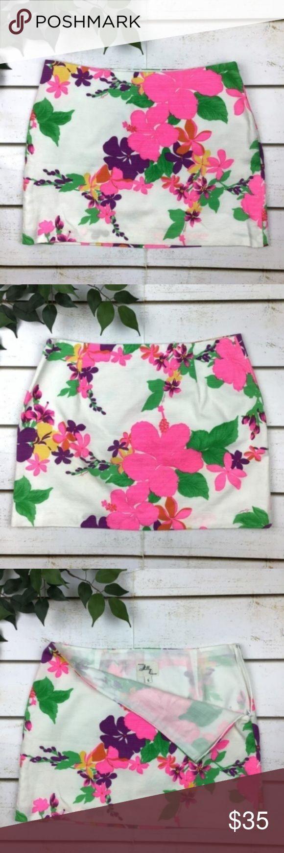 Mini-jupe en coton à fleurs Floral Milly of New York Profitez de l'été avec …   – My Posh Closet
