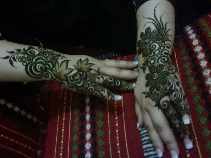 #henna #khaleeji