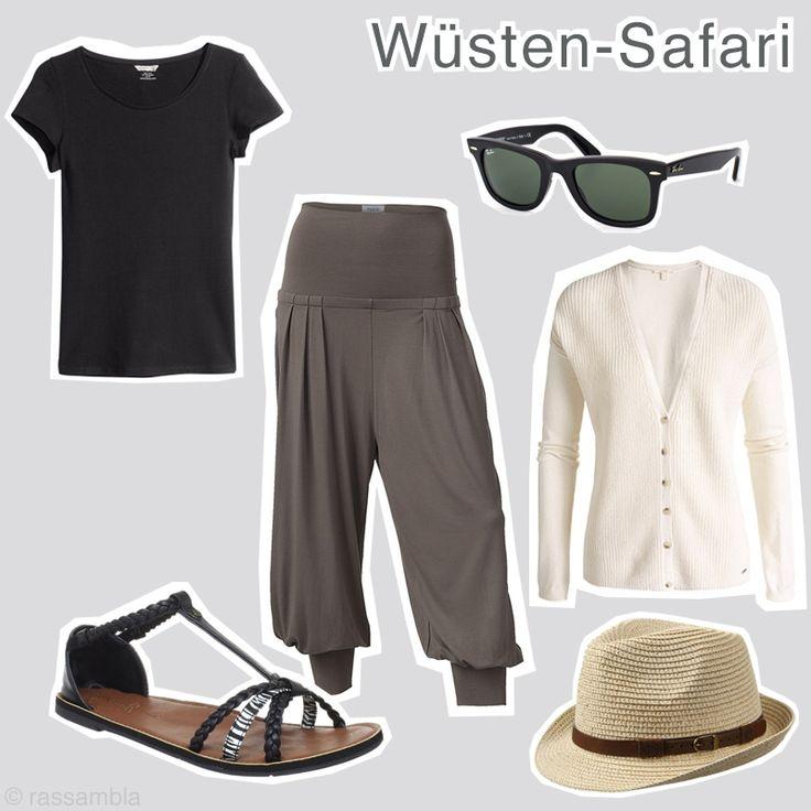 Outfit Dubai Wüsten-Safari - summer fashion