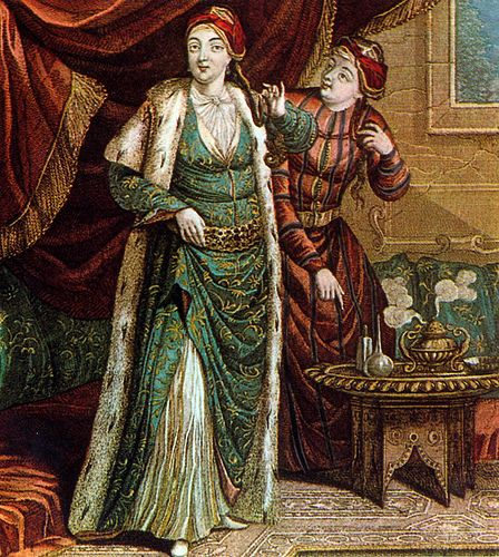 """Haseki Sultan and her assistant"""