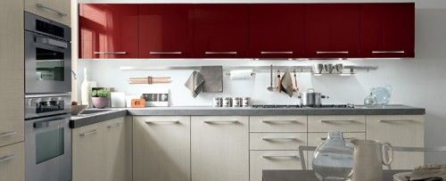 Kitchen Designs that Colour Block?! Only at Eurocasa…