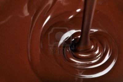 Chocolate ribbons
