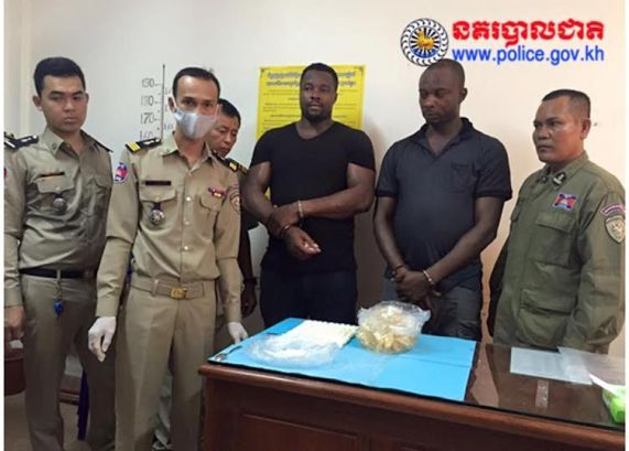 Update: Photos of the 2 Nigerian men arrested at Cambodian airport with cocaine in their stomachs