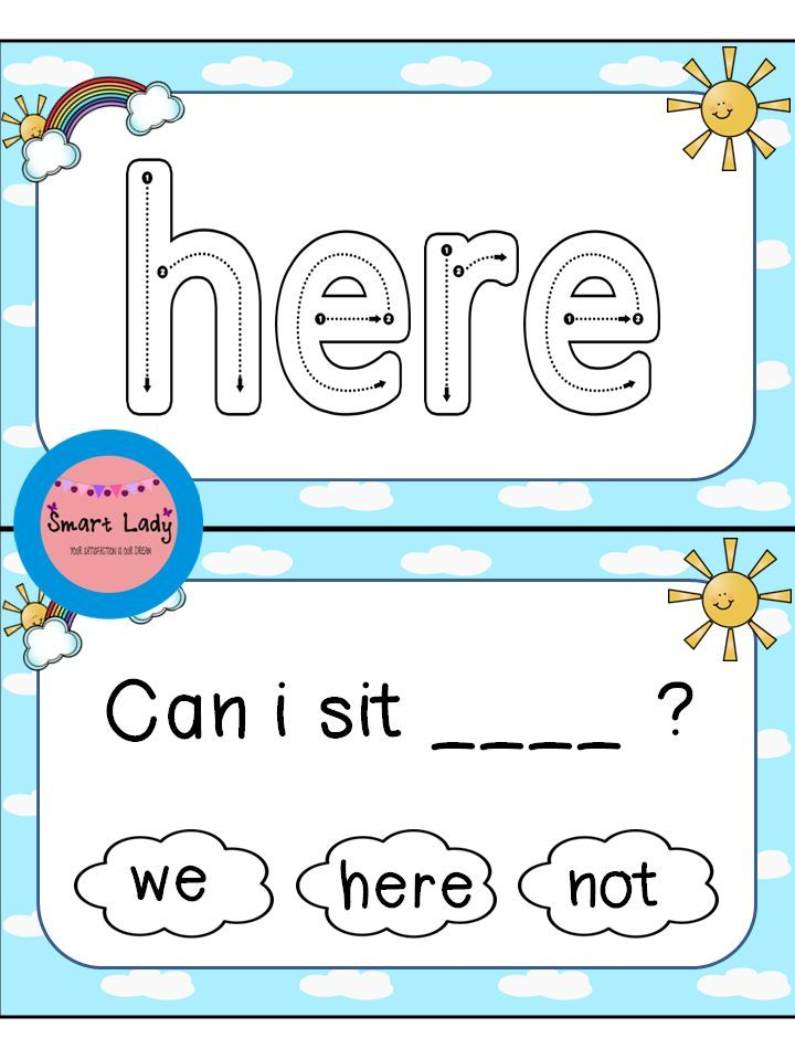 Sight Word Task Cards Pre-Primer. Inside you will find 40 task cards for the first set of Dolch Pre-Primer sight word. These cards are as easy as print, laminate, and cut! They are great for centers, Daily Five, small groups, and assessment.