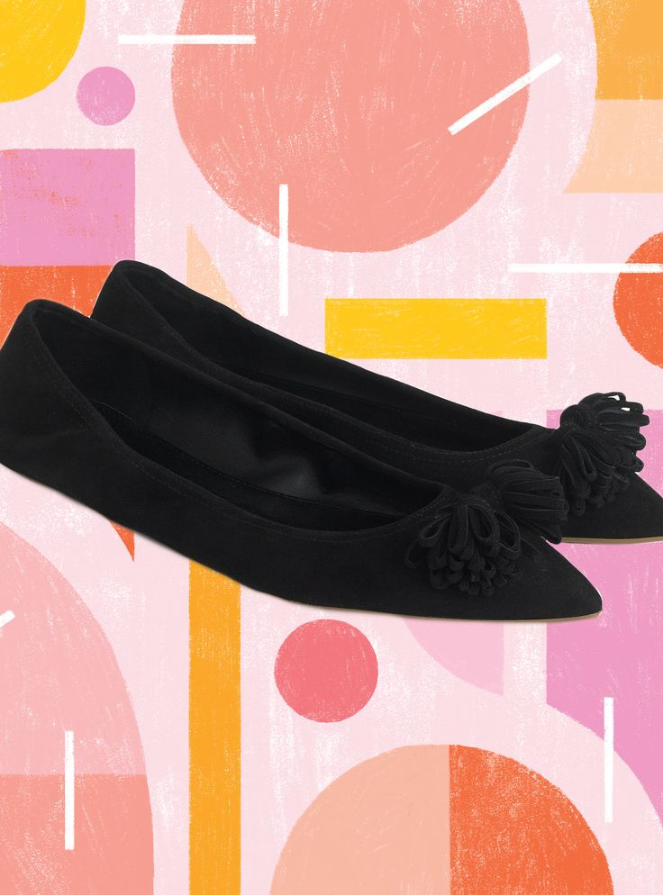 "J.Crew Is Calling This Its ""Most Comfortable Ballet Flat Yet""+#refinery29"