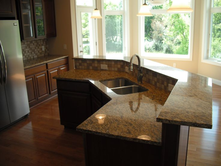 Kitchen Island Ideas With Sink And Dishwasher