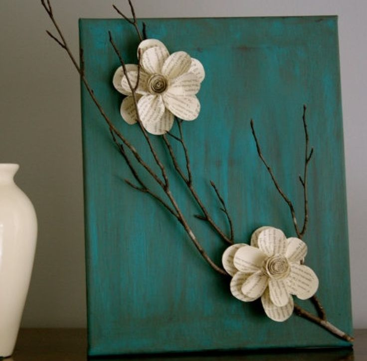 Crafting, used your favorite flowers, Paint with your favorite colors. Go for a walk and pick out branches for your project.