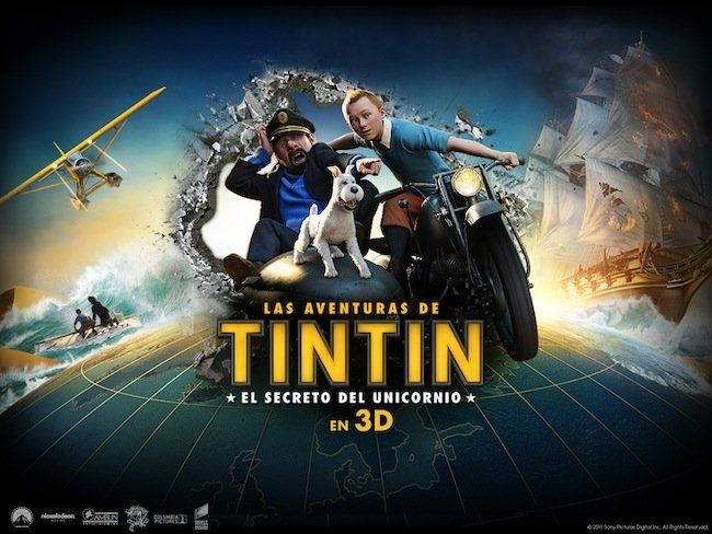 Ya está en la hemeroteca la película Las aventuras de Tintín: el secreto del Unicornio