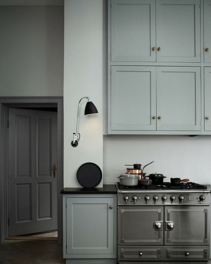 Green And Blue Popular Paint Colors For Kitchen With: Best 25+ Blue Gray Kitchens Ideas On Pinterest