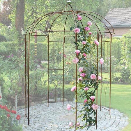die besten 25 rankhilfe rosen ideen auf pinterest rosenbogen gartenrosen und gartenspaliere. Black Bedroom Furniture Sets. Home Design Ideas
