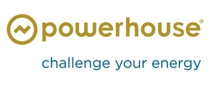 Design van de visuele identiteit en het nieuwe logo van Powerhouse