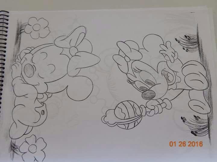Desenhos Da Minnie Para Pintar Em Tecido: As 52 Melhores Imagens Em Pintura Risco Meninas No
