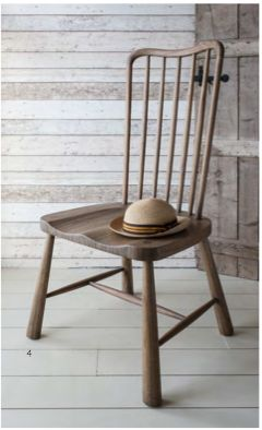 Wycombe Dining chair natural by Gallery Homewares