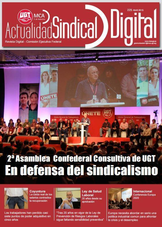 Ha salido Actualidad Sindical Digital 225  http://mcaugt.org/noticia.php?cn=22634