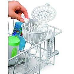 Only dishwasher basket made specifically for spill-proof cup valves---Attaches to dishwasher rack Washes up to 11 valves at a time