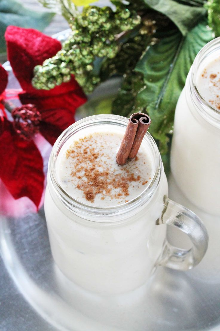 Decadent, thick Old Fashioned Non Alcoholic Eggnog is quite easy to make. Whisk up a batch of this favorite Christmas drink in no time.