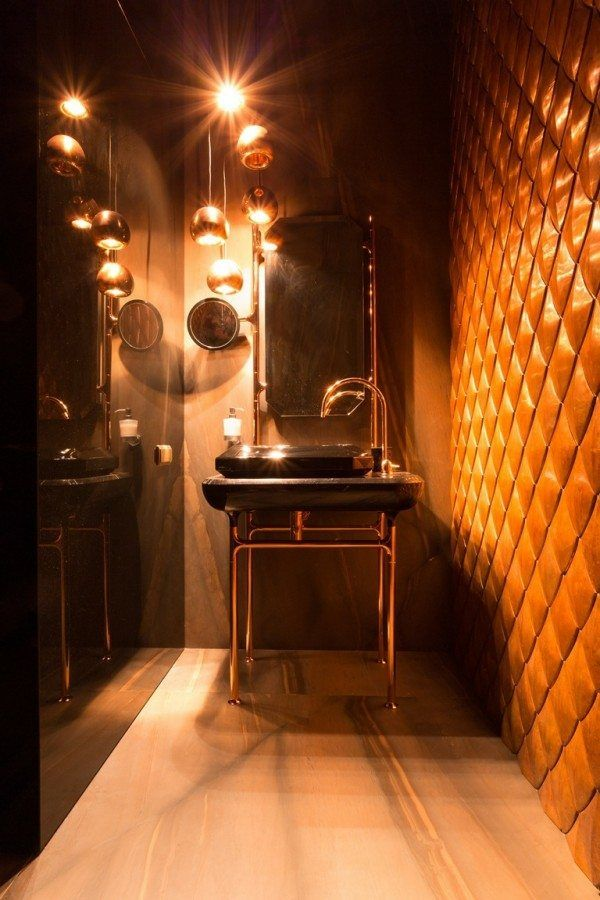 La salle de bain dess invit s art deco pinterest art for Art et decoration salle de bain