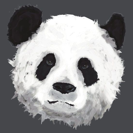 """Giant Panda"" T-Shirts & Hoodies by Jayden McLeod 