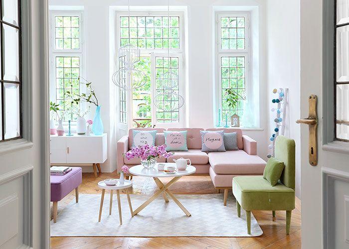 Sala com estilo escandinavo